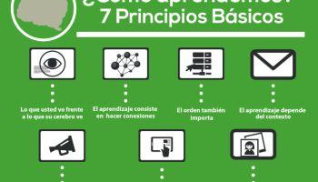 Como Aprendemos - 7 Principios Básicos | Infografía