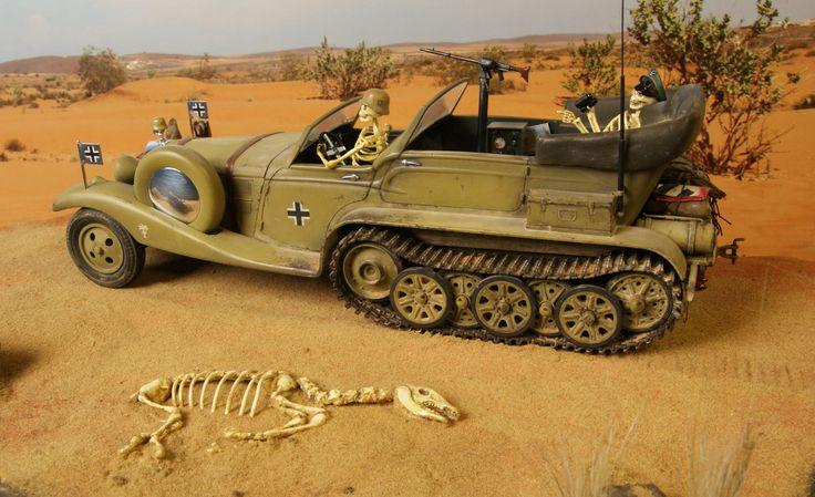 Rommels rod ,en gammal Tom Daniel byggsats som jag har modifierat.