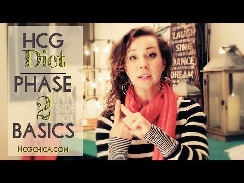 Phase 2 hCG Diet Basics - the 500 Calorie Diet - YouTube