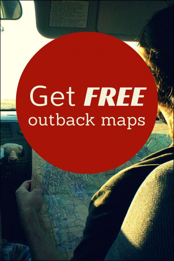 How to Get Free Outback Maps