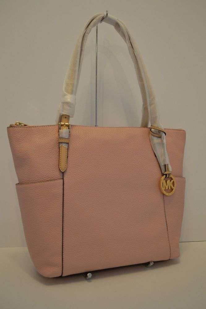 384ff0d38ebf New w tag michael kors jet set ew tz leather tote blossom pink | Women's  Bags & Handbags | Pinterest | Michael kors jet set