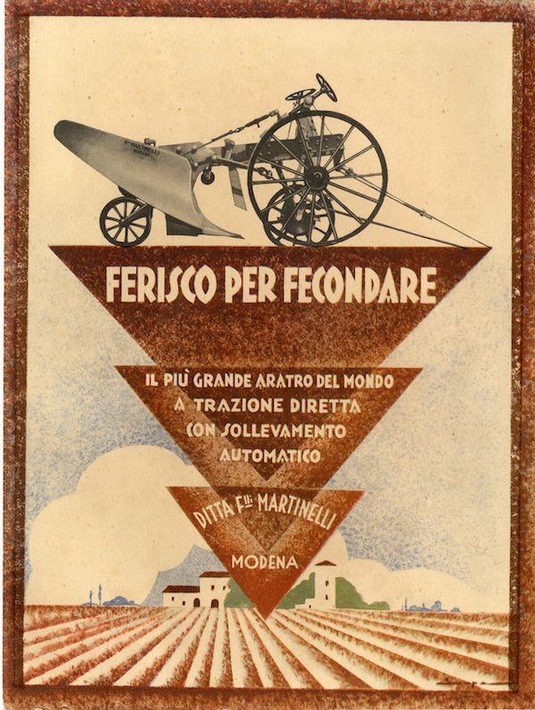 Depliant edito dal sindacato Nazionale Fascista, Roma 1933. (© Giunti Editore – Maria Adriana Giusti, Arte di Regime, 2014)