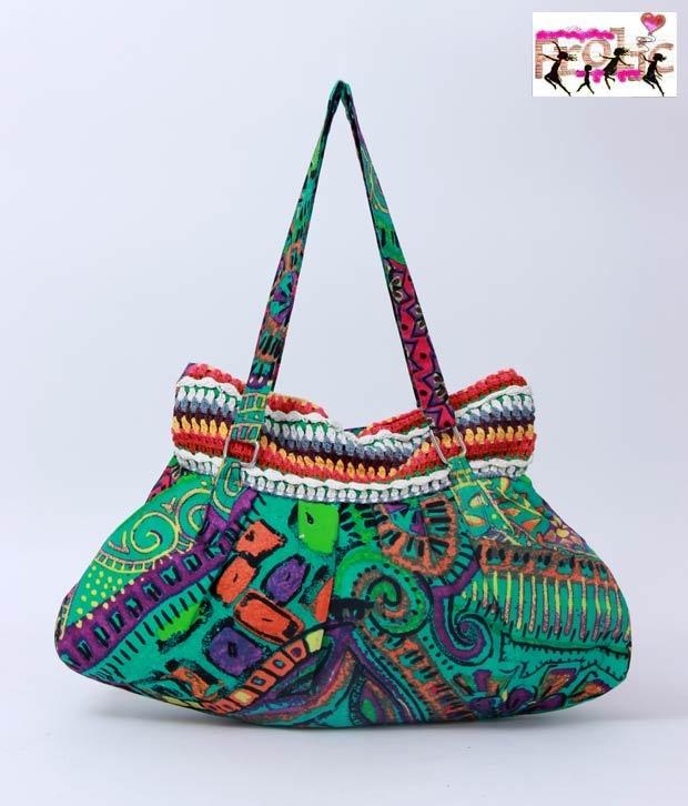 #Snapdealbestproducts Frolic Green Crochet Bonnie Bag, http://www.snapdeal.com/product/frolic-green-crochet-bonnie-bag/225644?pos=2;3114