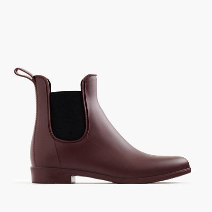 "A sleek, matte rain boot makes inclement weather way more tolerable. <ul><li>Half sizes order up.</li><li>1"" heel.</li><li>PVC upper and sole.</li><li>Import.</li></ul>"