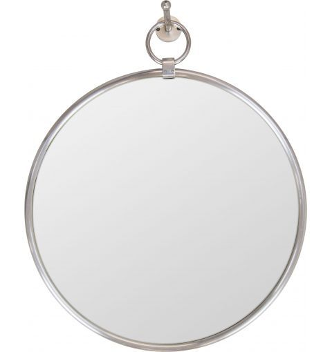 Zora Removable Mirror | Brass with Antique Silver Finish | Perfect for a Contemporary or Retro Bathroom | Buy at Schots in Melbourne & Geelong, Australia or online at www.schots.com.au