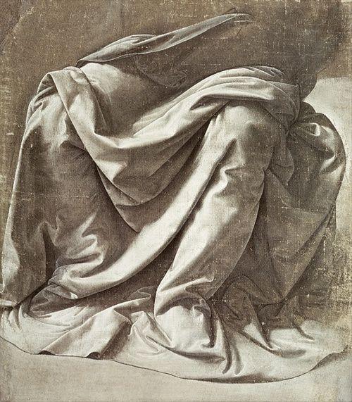Leonardo da Vinci Fabric Study - beautiful!