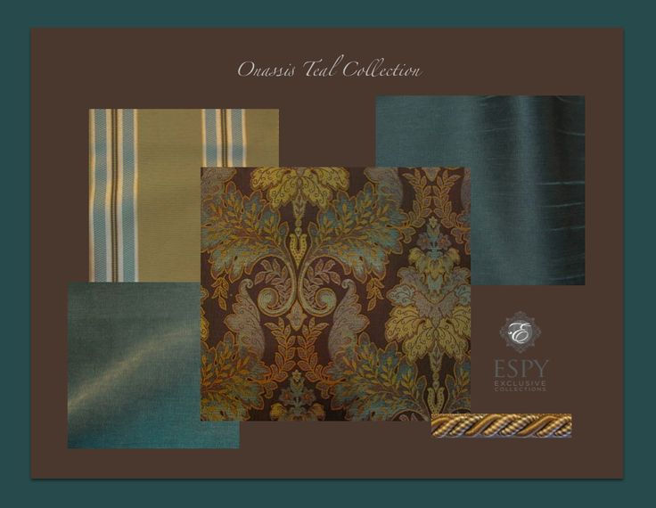 Swatch Set Onassis Teal Collection version 2