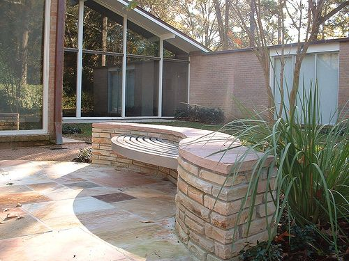 Best Exterior Furniture Benches Images On Pinterest