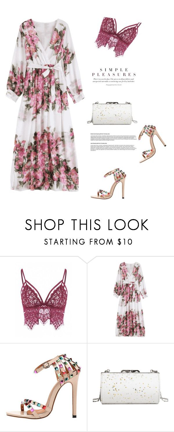 """""""Floral maxi dress"""" by stellina-from-the-italian-glam on Polyvore"""