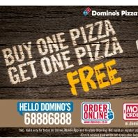 Dominos Buy 1 Get 1 Free Pizza Offer : Pizza Hut Coupons Code MOBO6 - Best Online Offer