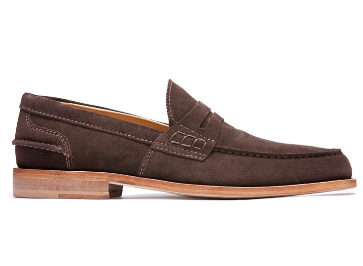 Brown Loafers in Suede Leather - El Maester - Velasca - Men's Fashion