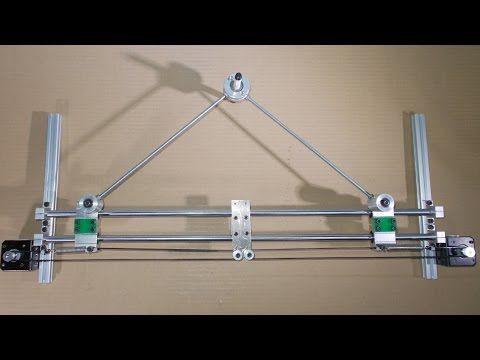Homemade Scara Robot Arm DIY Laser Engraving Printer