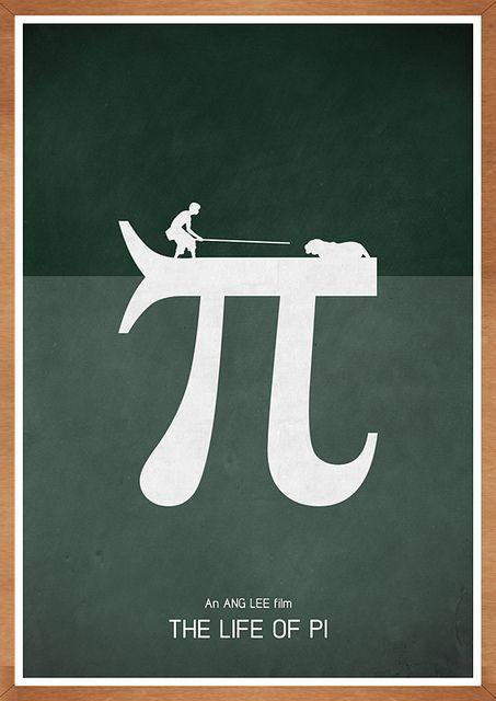 The Life of Pi (2012) - Minimal Movie Poster by Jon Glanville #minimalmovieposters #alternativemovieposters #jonglanville