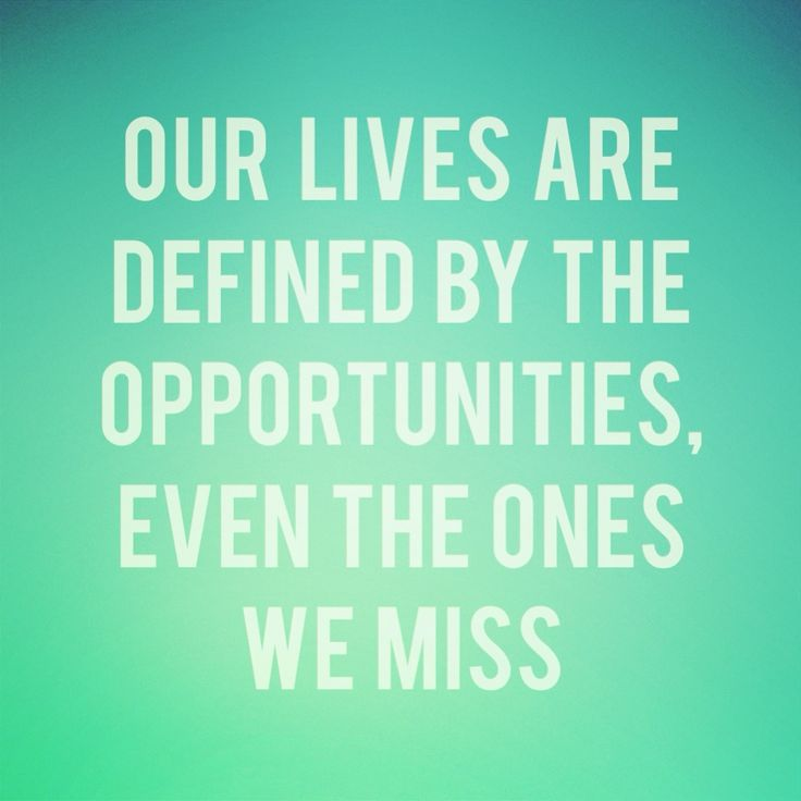 Opportunities Quote