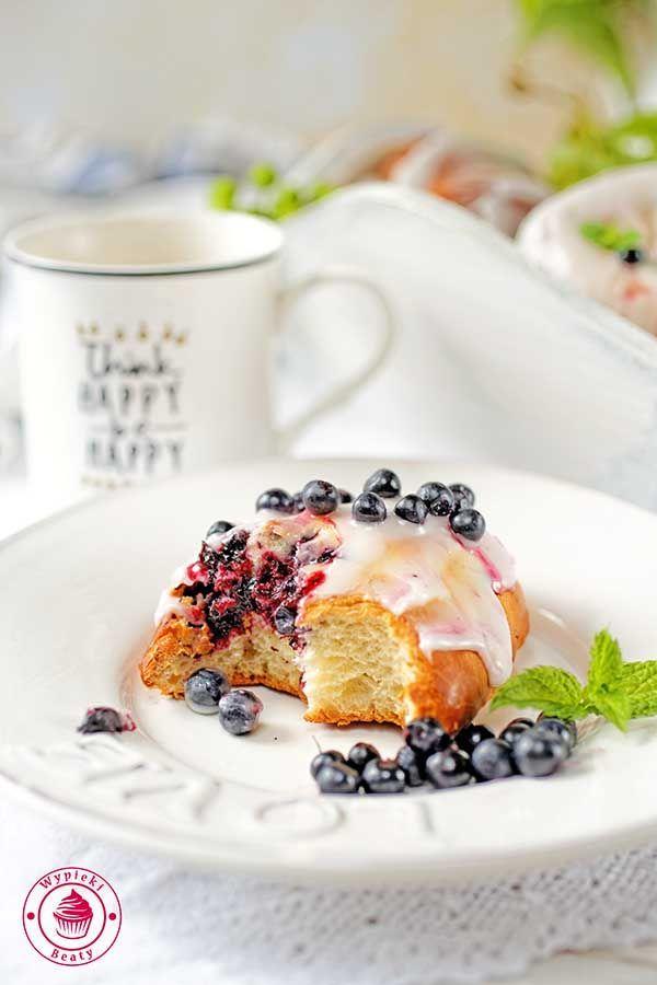 Blueberry buns - pyszne jagodzianki :)