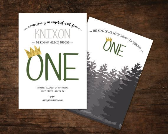 Where The Wild Things Are Invitations Where The Wild Things Are