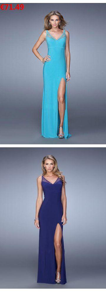 V-Ausschnitt Bodenlanges blaues Abendkleid Ballkleid günstig online                                 Specifications                                              Alle Kleider sind in jeder Größe und Farbe                                            ÄRMELLÄNGE          Ärmellos                                  AUSSCHNITT          V-Ausschnitt                                  Farben