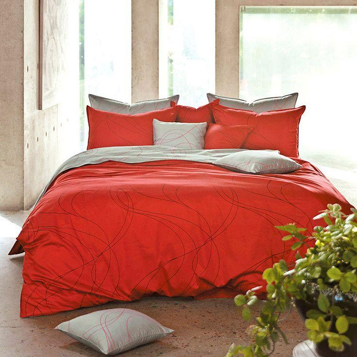 Red Duvet Cover King