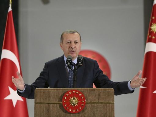 Der türkische Präsident Erdogan darf nicht in Deutschland auftreten. Foto: dpa