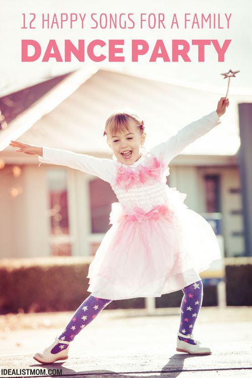Cranky, whiny kids? These happy songs will turn your kids' mood right around. Plus, this dance music playlist is so good you'll want to join in with a family dance party!