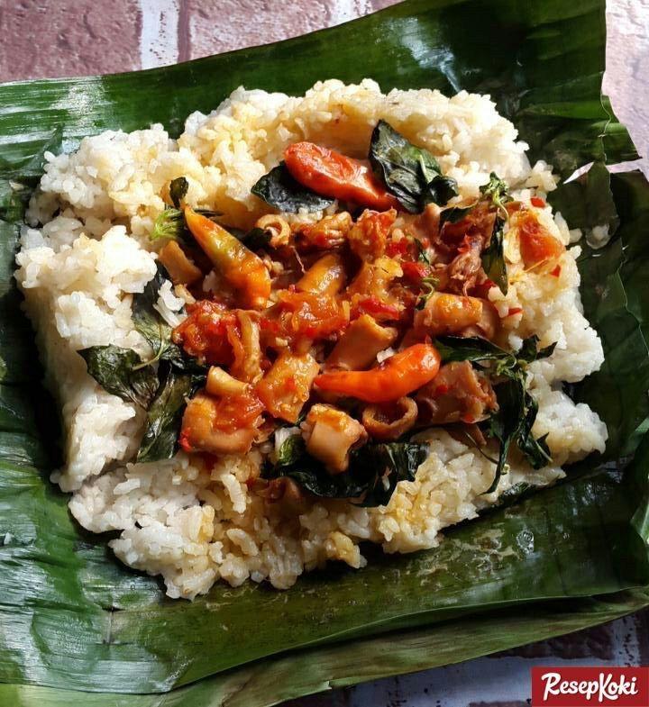 Nasi Bakar Pedas Isi Cumi Asin Sambalado Cumi Resep Resepkoki Resep Resep Masakan Asia Resep Resep Masakan Indonesia