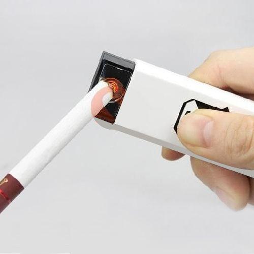 USB Şarjlı Alevsiz Elektronik Çakmak :: DEVesnaf