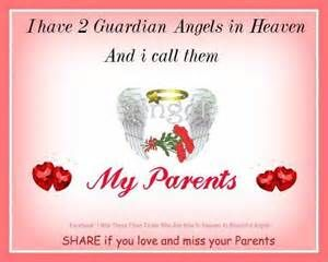 For Our Parents In Heaven Miss You Both Ever So Muchforever In