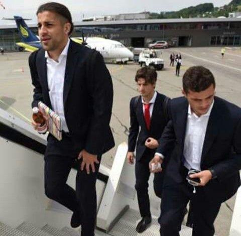 Swiss Football Team ⚽ Ricardo Rodriguez, Timm Klose and Granit Xhaka ♡