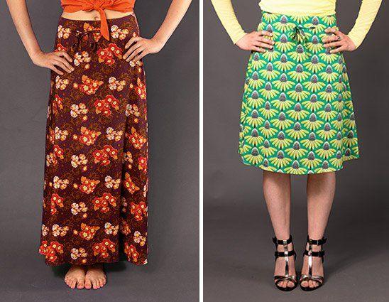 2 einfache Röcke von handmadekultur