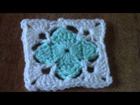 Haken Tutorial Klavertje 4 Kant Youtube Breien Crochet