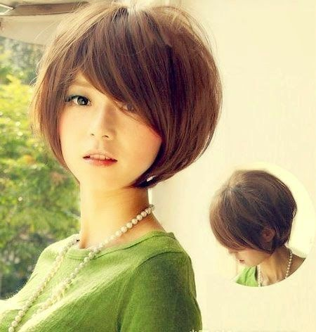 How To Beauty : 8 Short Hairstyles for Winter #short_hair
