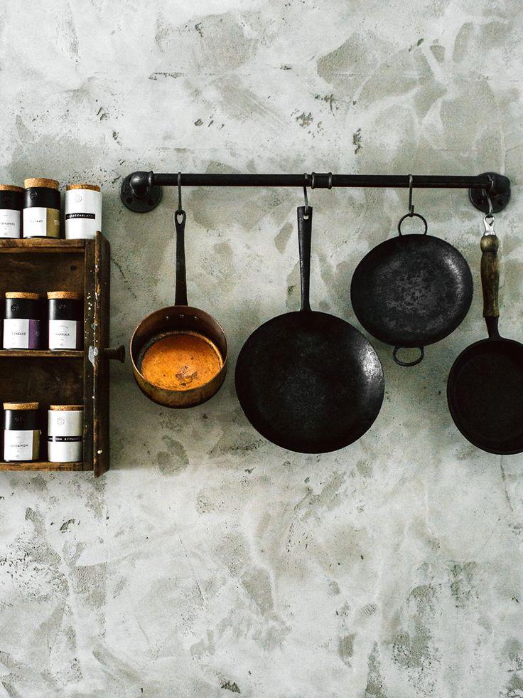 vintage and handmade japanese (sauce) pans