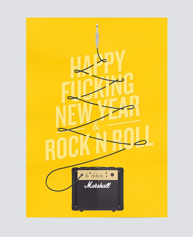 Happy Fucking New Year Poster