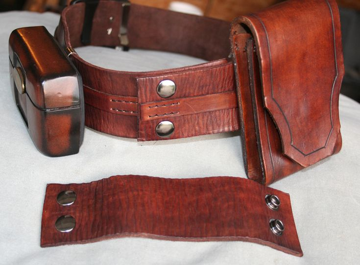 Jedi Leather Utility Belt Tutorial