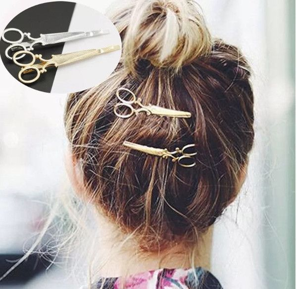 The WanderLust Snip Snip Hair Pins 2pcPack