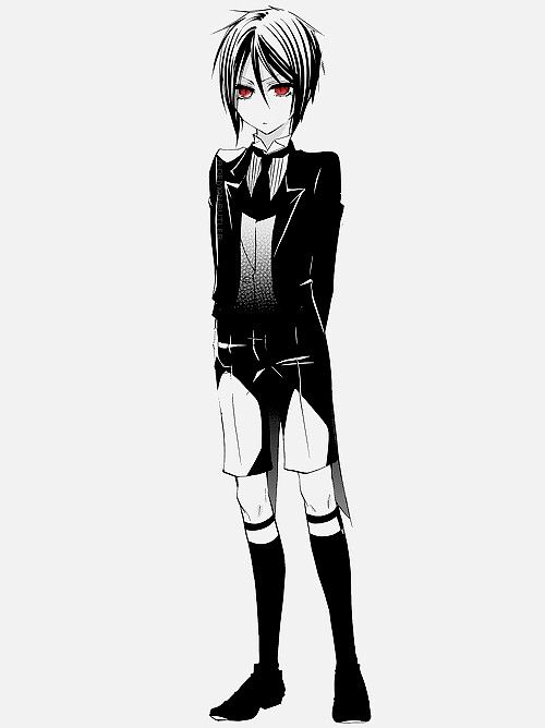 Kuroshitsuji/little  sebastian is so cute<3