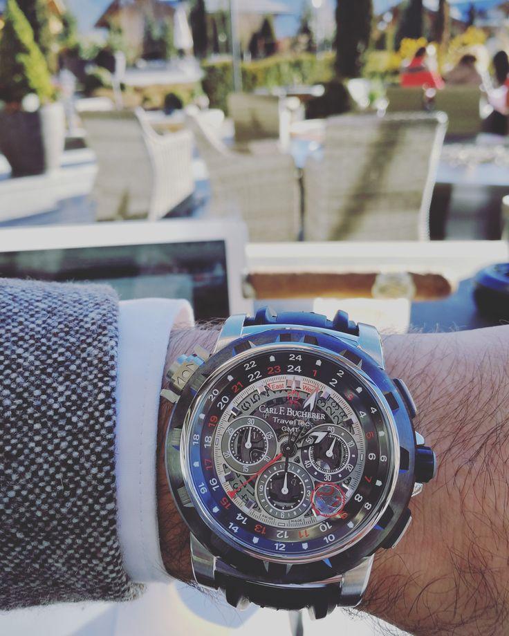 watch, watches, swiss watch, swiss watches, swiss watch brand, carl f bucherer, carl f. bucherer, patravi traveltec