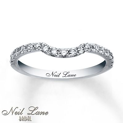 Neil Lane Wedding Band 3/8 ct tw Diamonds 14K White Gold