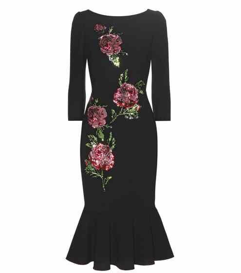 Robe en laine à sequins   Dolce & Gabbana