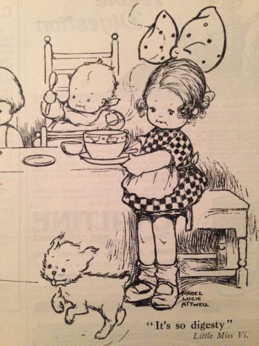 MABEL LUCIE ATTWELL- Original Vintage Advertisement, Vi-Cocoa,1918 | eBay