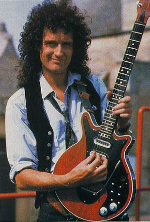 Brian May: I admire and respect Brian May not only for his musicianship but also for the person he is. Rock legend, Astrophysicist, Conservationist and to top it off he even made his own guitar. Genius.