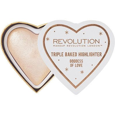 Makeup Revolution Blushing Hearts Highlighter Goddess of Love