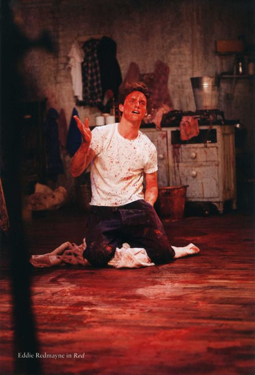 Eddie Redmayne in Red    from  'A Decade at the Donmar 2002-2012'  Michael Grandage