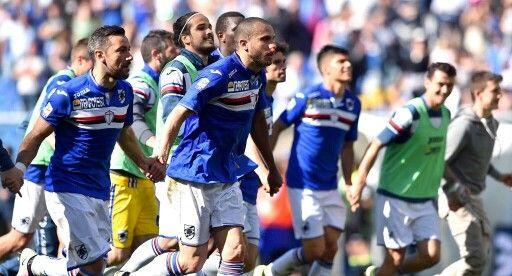 Sampdoria saca una gran victoria para tomar 3 pts mas para salir de la zona del descenso segurar su permanencia