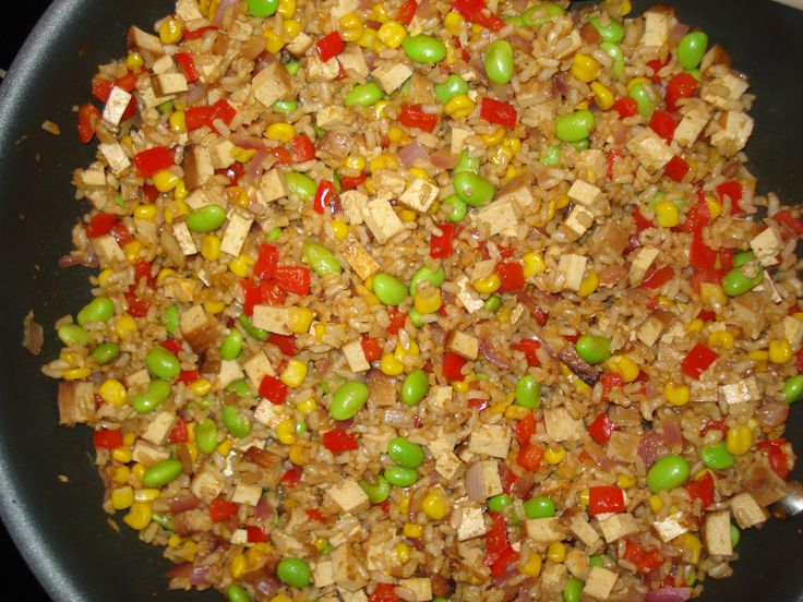 Vegetarian Fried Rice | food ideas | Pinterest | Fried Rice, Rice ...