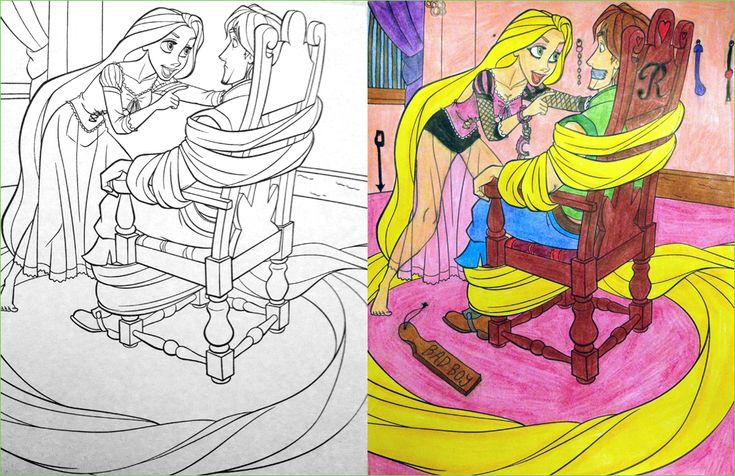 33 Of The Most Demented Things Ever Drawn In Perfectly Innocent Coloring Books