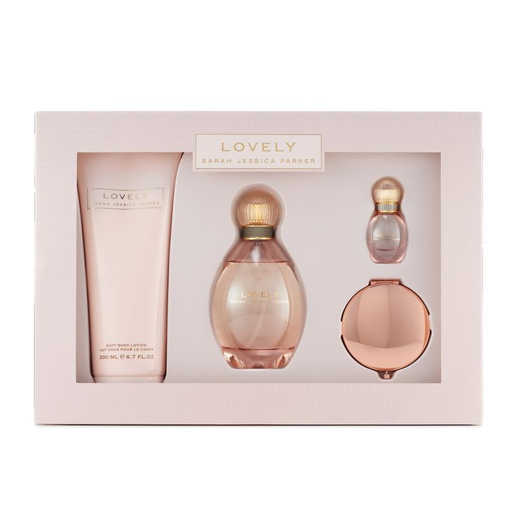 Sarah Jessica Parker Lovely Women's Perfume Gift Set, Multicolor