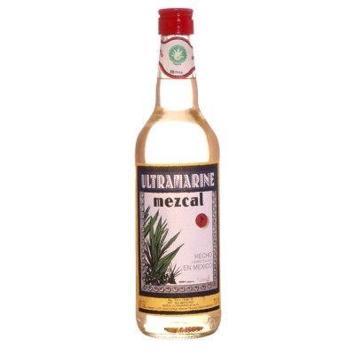Bouteille de téquila Mezcal Ultramarine 70cl. 40°