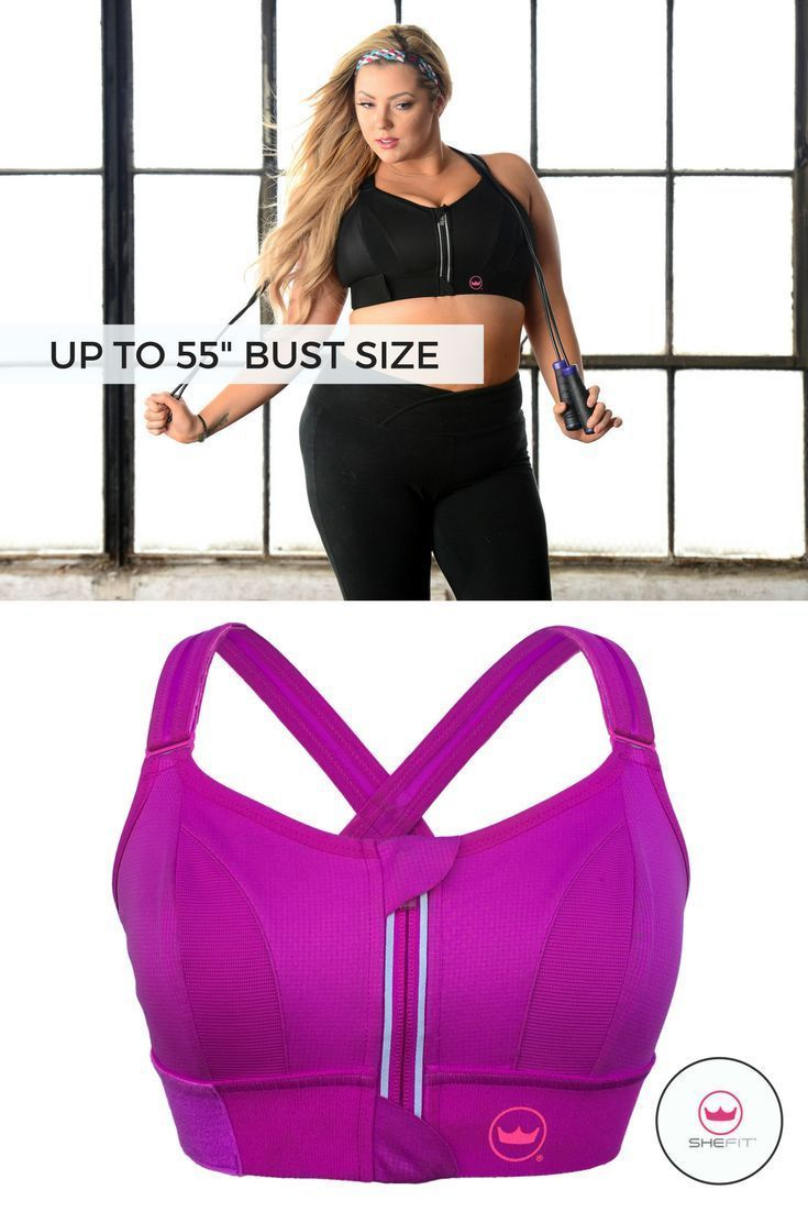 3f09ee58f6 Shefit high impact sports bra is the most unique sports bra on the market  for girls with small chest