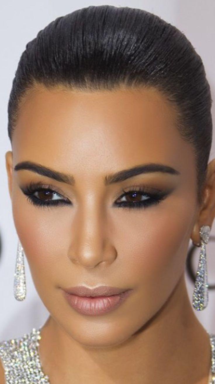 Kim Kardashian makeup, makeup by Mario